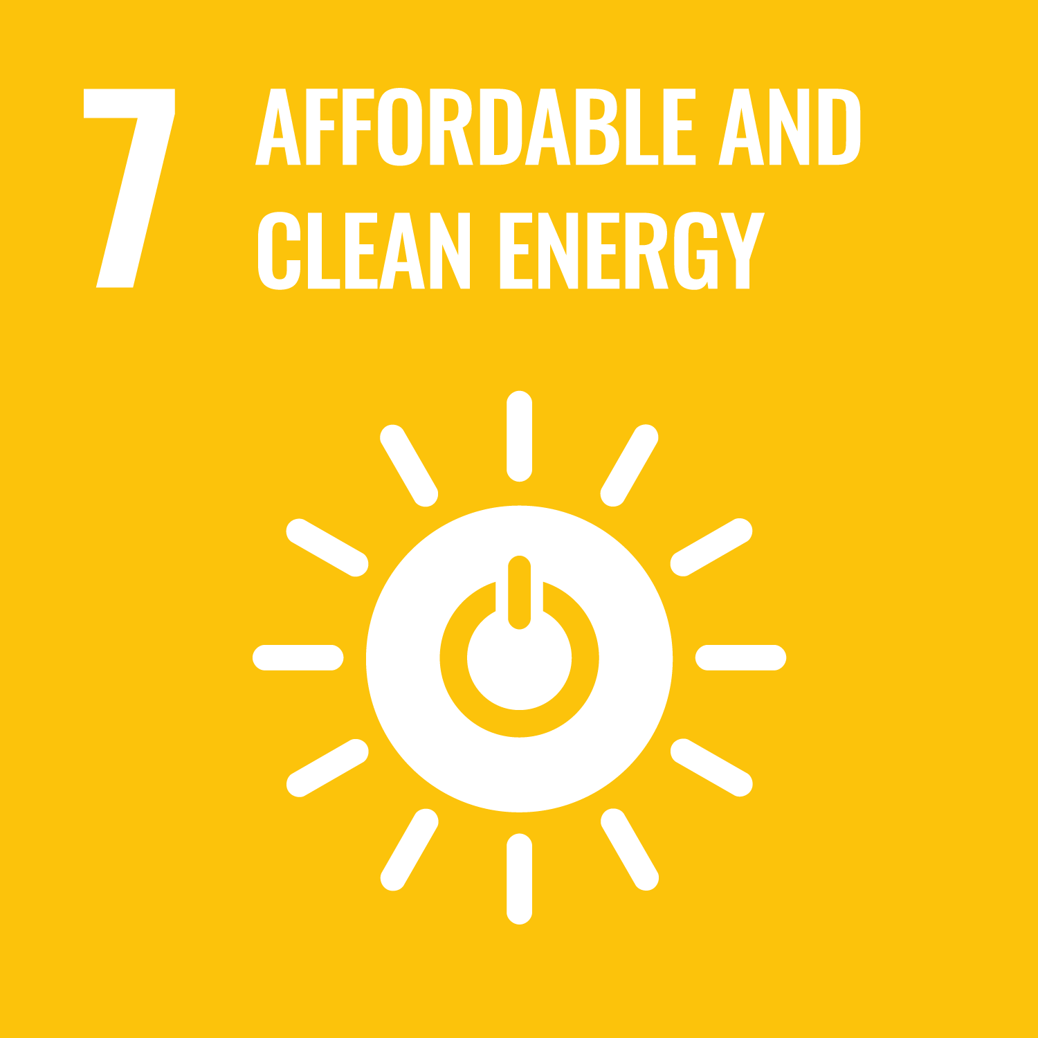Picture | UN Global Goals, Affordable & Clean energy, Quantum New Energy