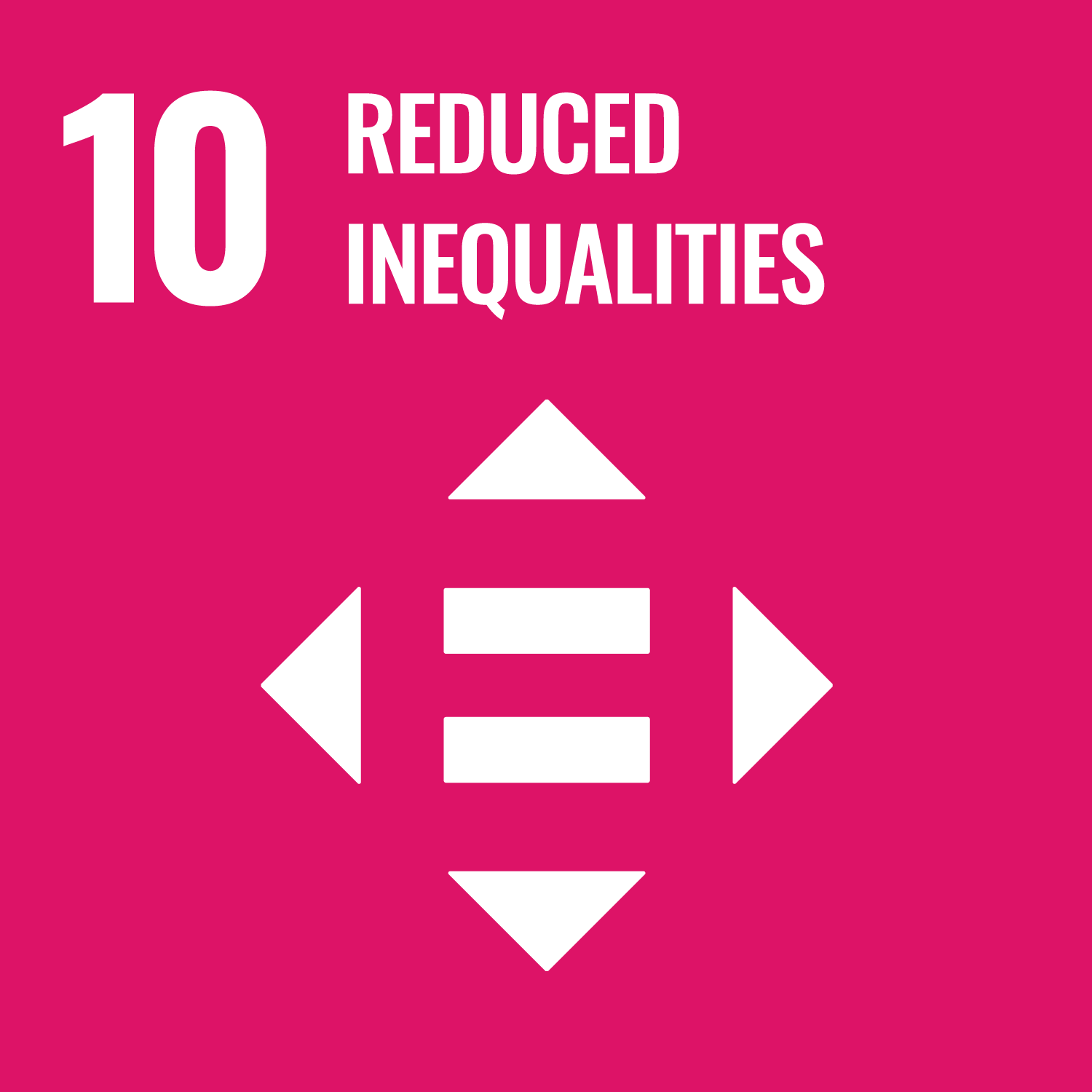 Picture | UN Sustainable Development Global Goals | Reduce Inequality | Quantum New Energy